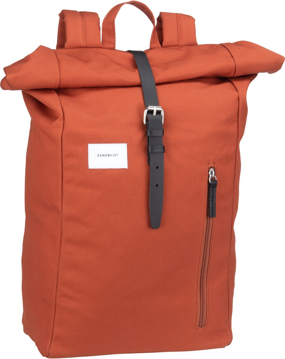 Sandqvist Laptoprucksack Dante Backpack Rust (18 Liter)