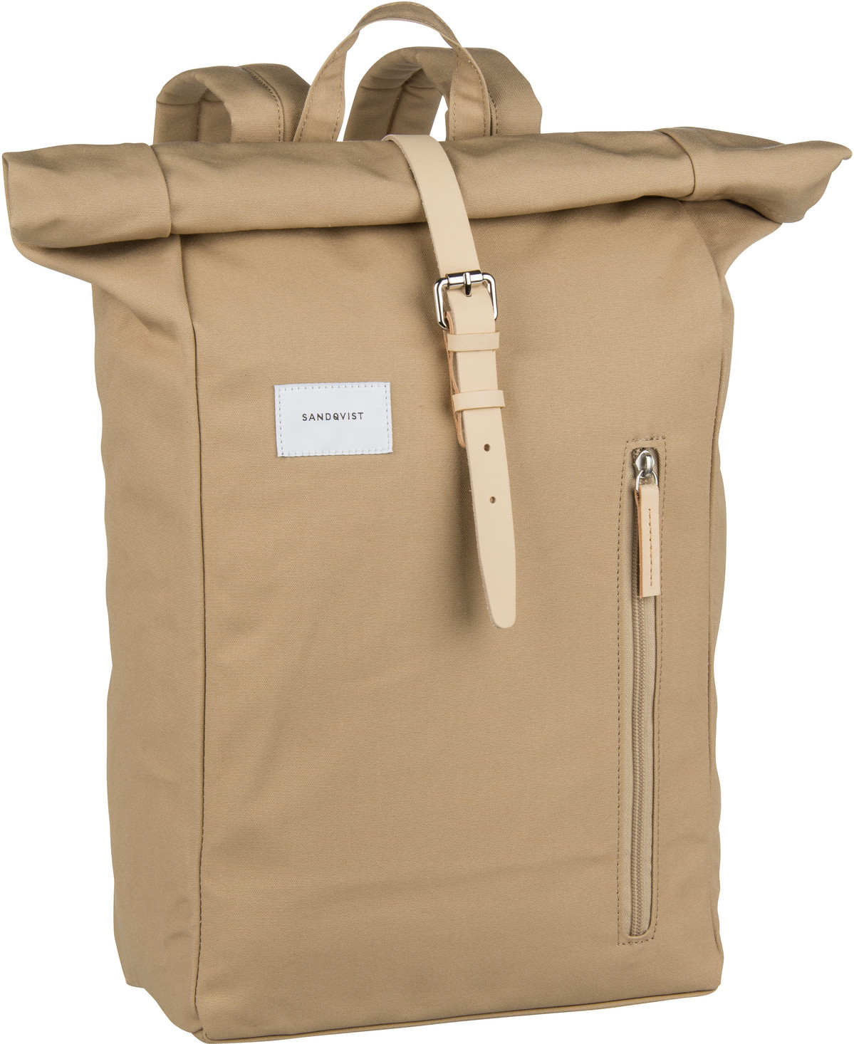 Laptoprucksack Dante Backpack Beige/Natural Leather (18 Liter)