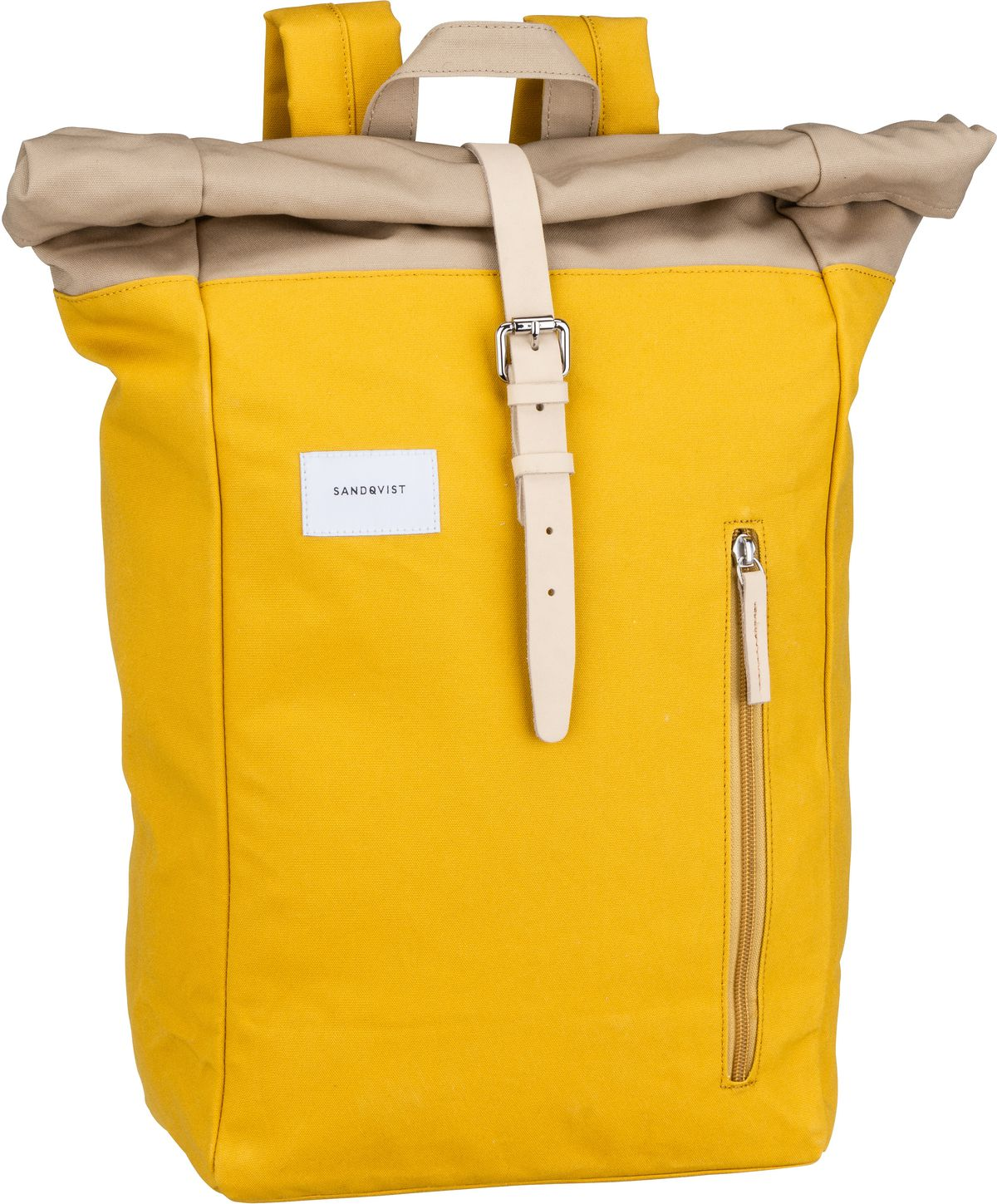 Laptoprucksack Dante Backpack Multi Yellow/Beige/Natural Leather (18 Liter)