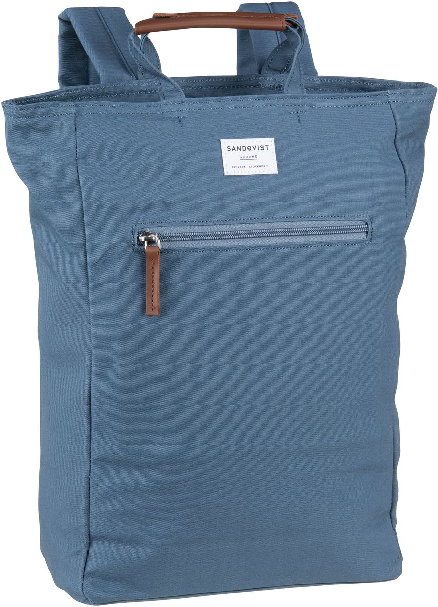 Laptoprucksack Tony Totepack Dusty Blue (13 Liter)