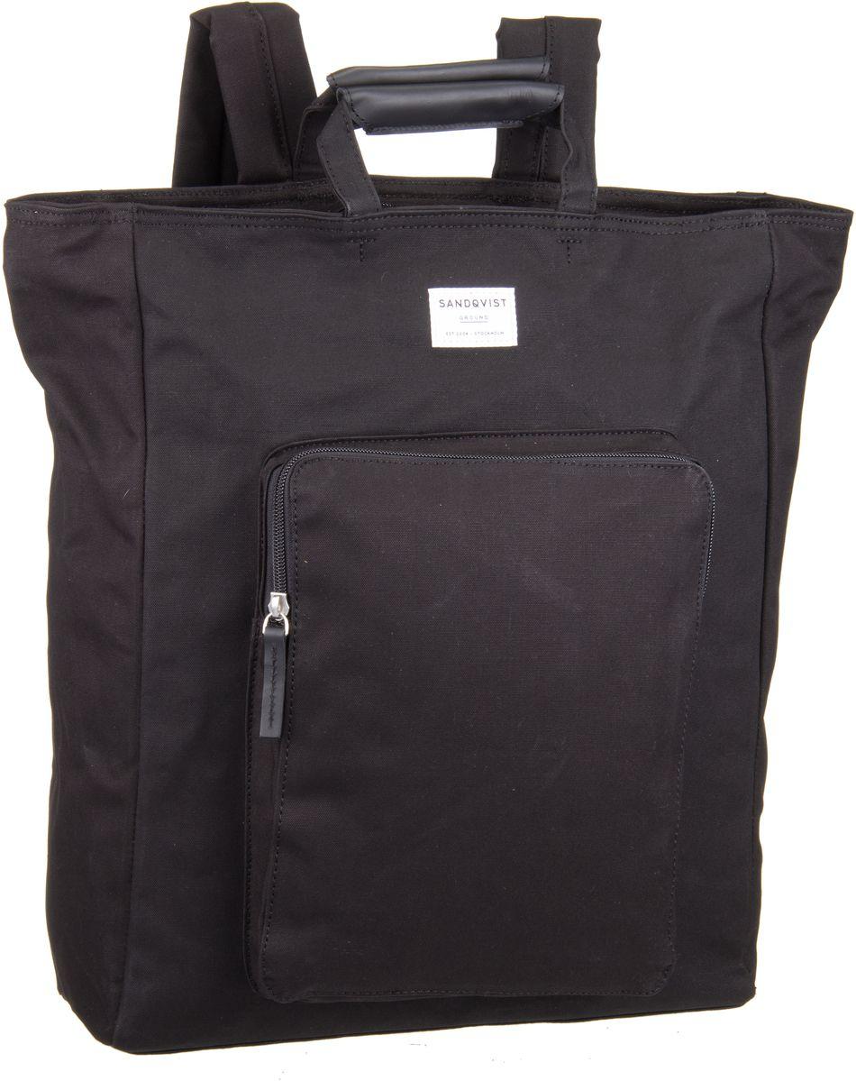 Laptoprucksack Sasha Totepack Black (19 Liter)