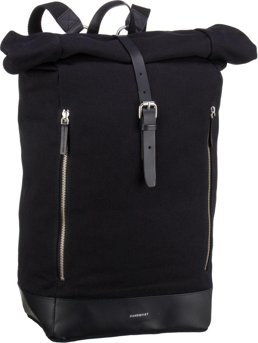 Laptoprucksack Marius Rolltop Backpack Black (19 Liter)