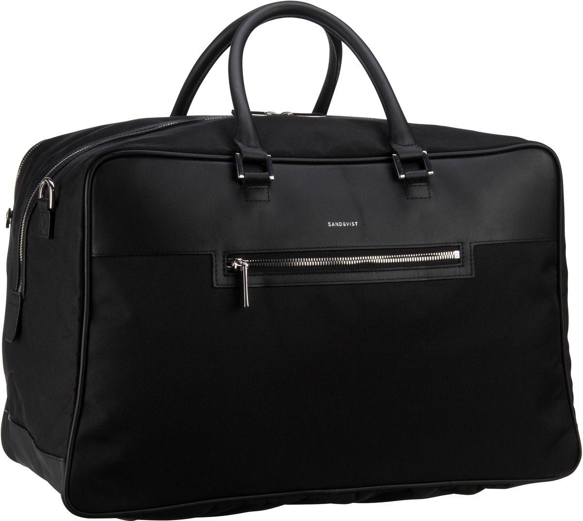 Sandqvist Weekender Mattias Weekend Bag Black (28 Liter)