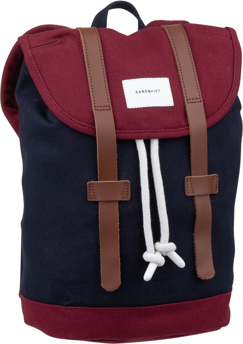 Rucksack / Daypack Stig Small Backpack Multi Blue/Burgundy (9 Liter)