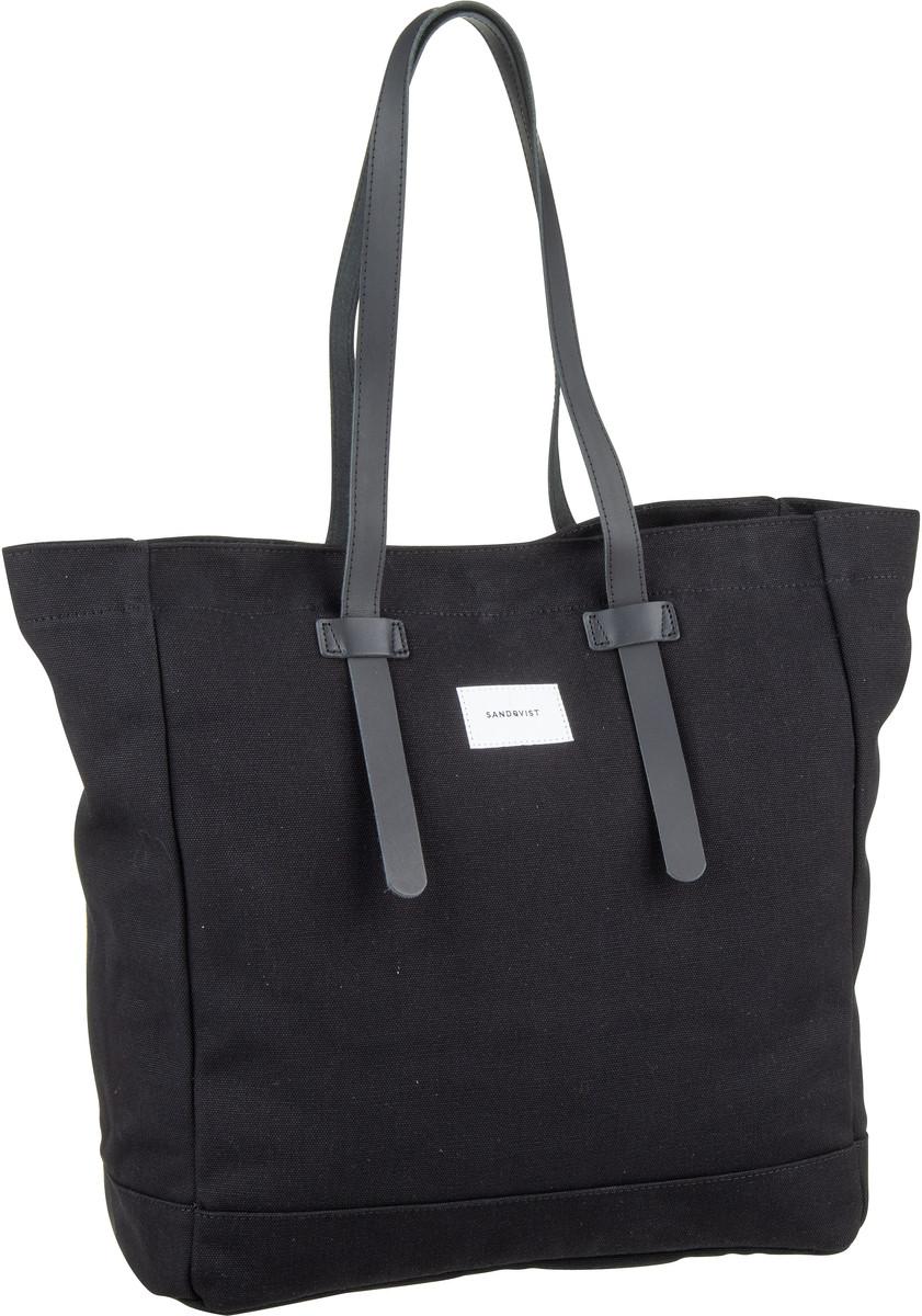 Handtasche Stig Tote Bag Black (20 Liter)
