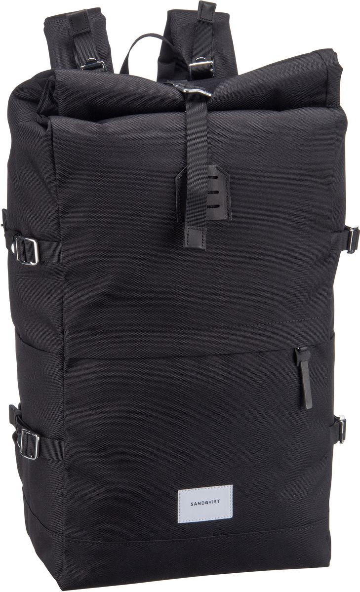 Laptoprucksack Bernt Rolltop Backpack Black (20 Liter)