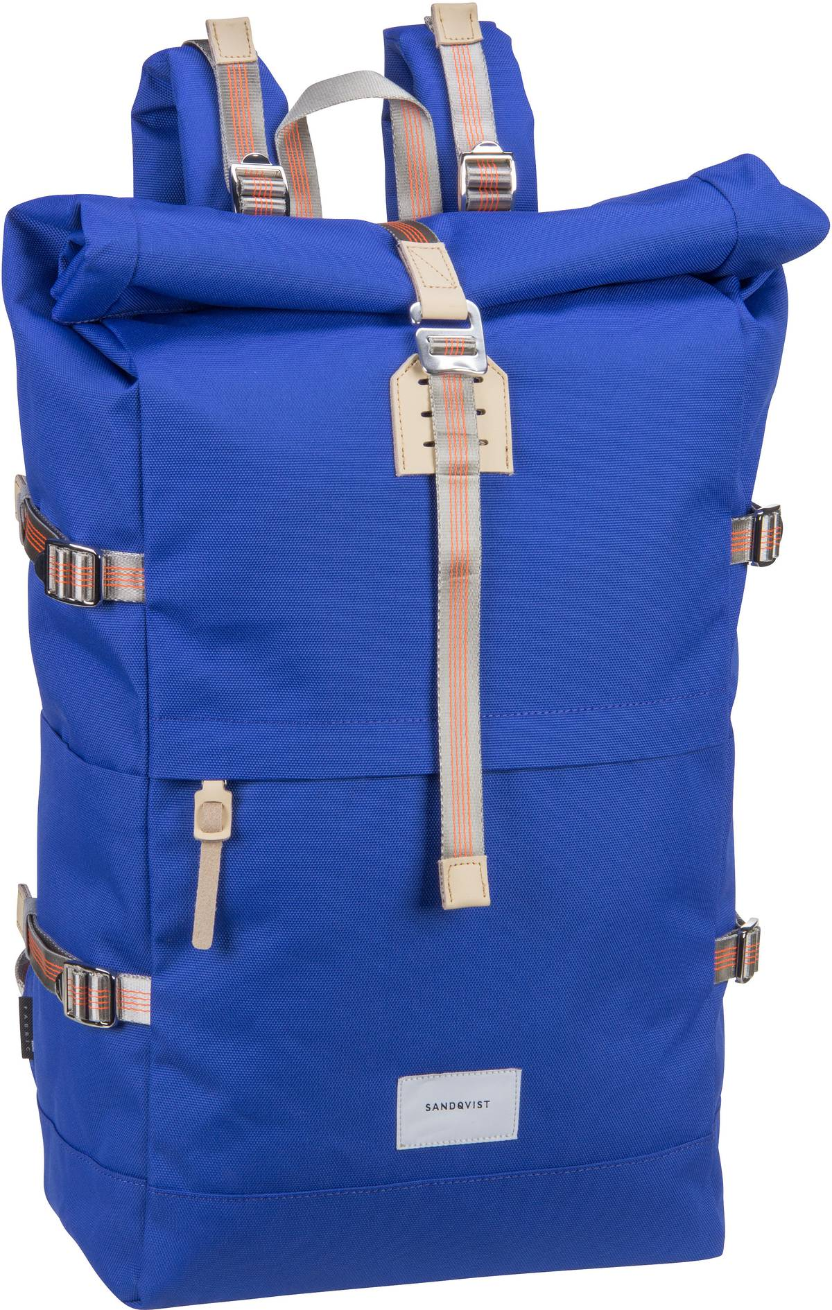 Laptoprucksack Bernt Rolltop Backpack Bright Blue (20 Liter)
