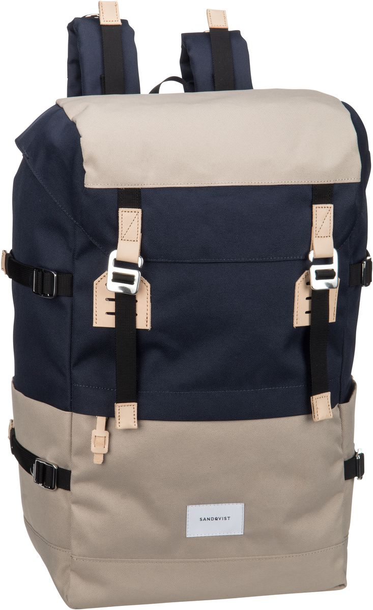 Laptoprucksack Harald Backpack Multi Beige/Blue (21 Liter)