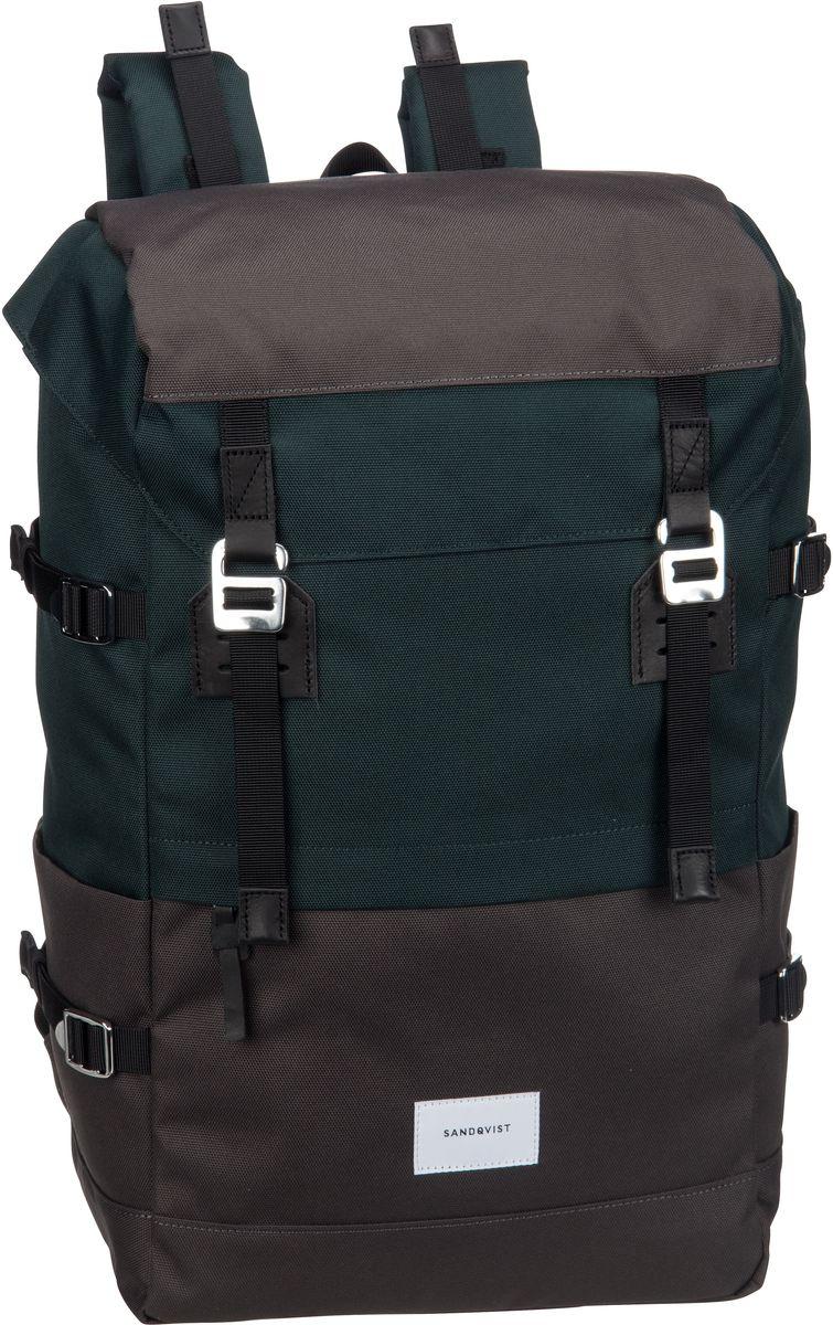 Laptoprucksack Harald Backpack Multi Deep Green/Dark Grey (21 Liter)
