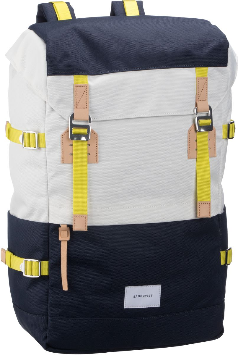 Laptoprucksack Harald Backpack Multi Off White/Blue (21 Liter)