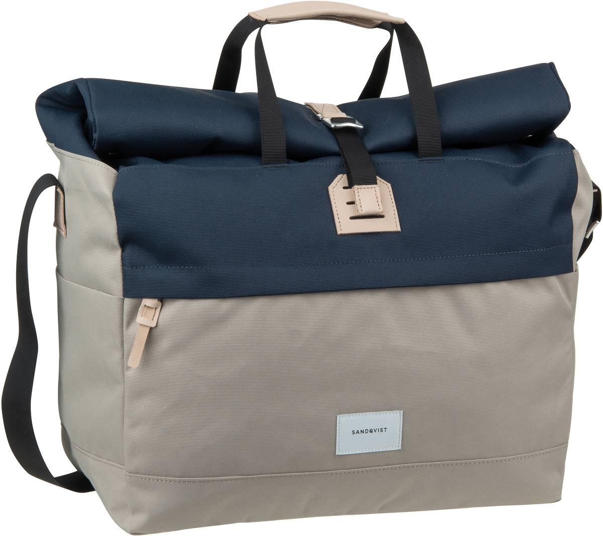 Umhängetasche Tor Rolltop Messenger Bag Multi Beige/Blue (22 Liter)