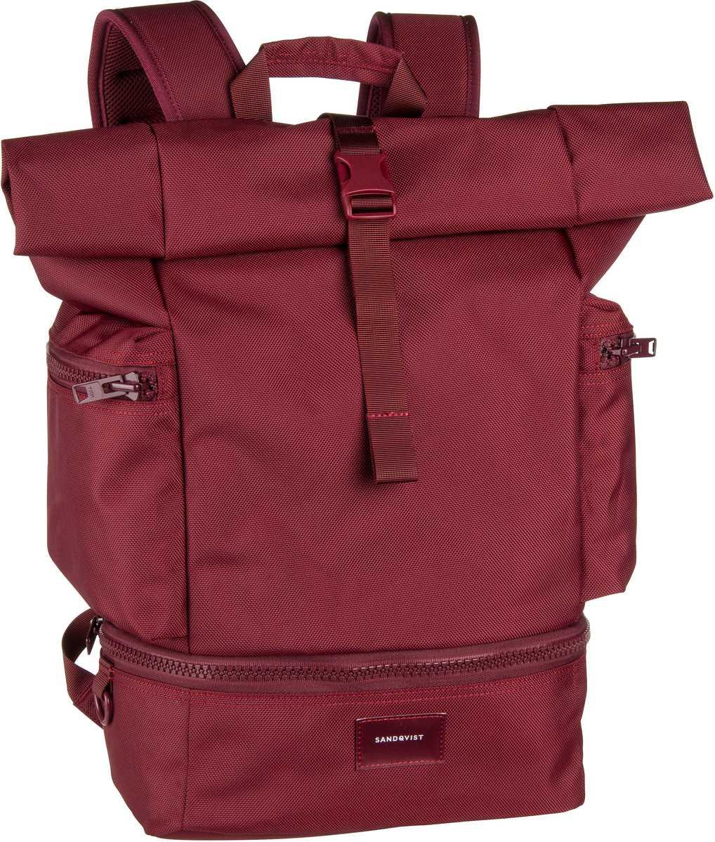 Laptoprucksack Verner Rolltop Backpack Burgundy (20 Liter)