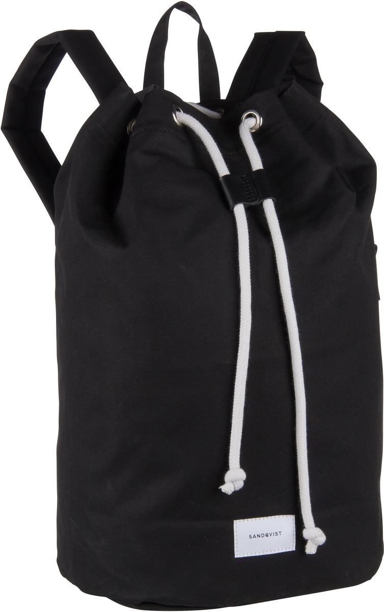 Laptoprucksack Evert Drawstring Bucket Backpack Black (18 Liter)