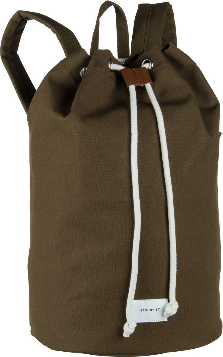 Laptoprucksack Evert Drawstring Bucket Backpack Olive (18 Liter)