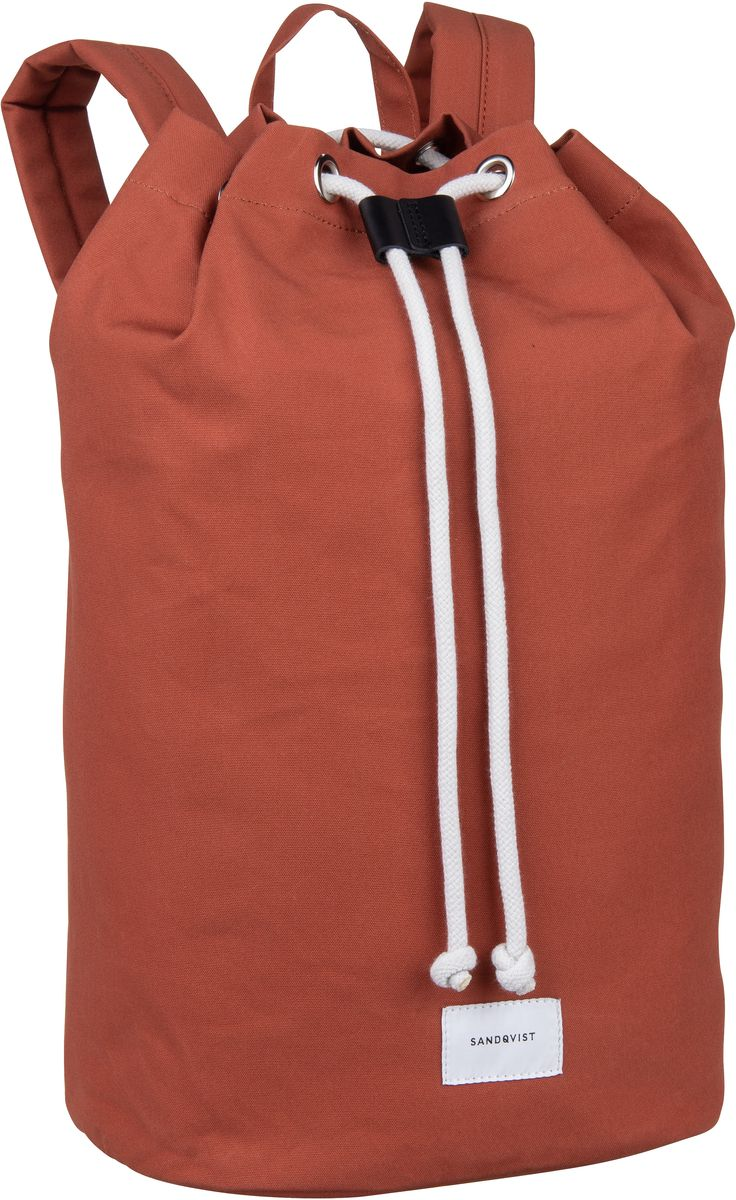 Laptoprucksack Evert Drawstring Bucket Backpack Rust (18 Liter)