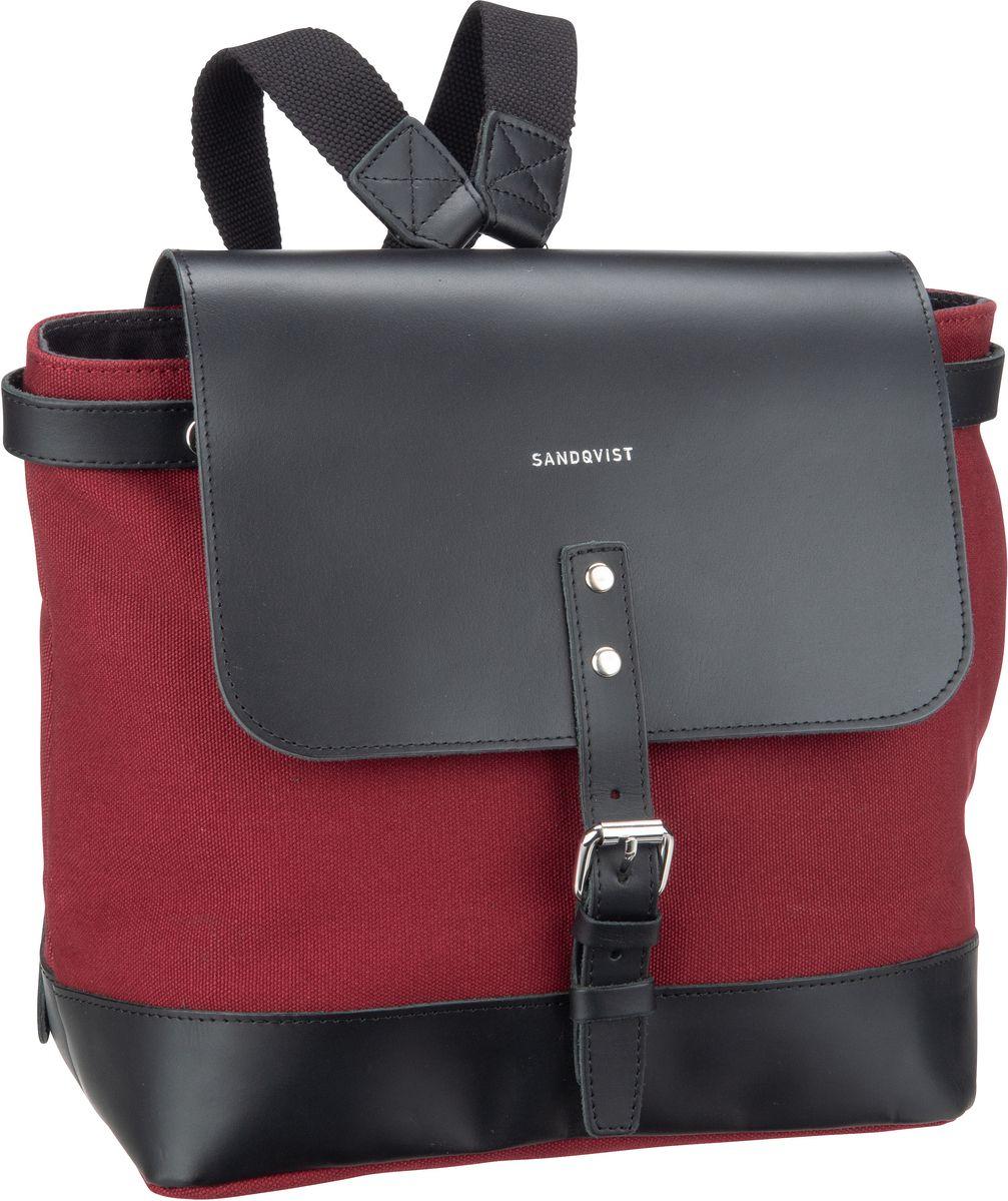 Sandqvist Rucksack / Daypack Vilda Small Backpack Burgundy (8 Liter)