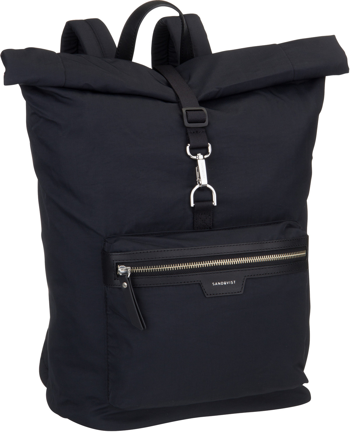 Rucksack / Daypack Siv Backpack Black/Black Leather