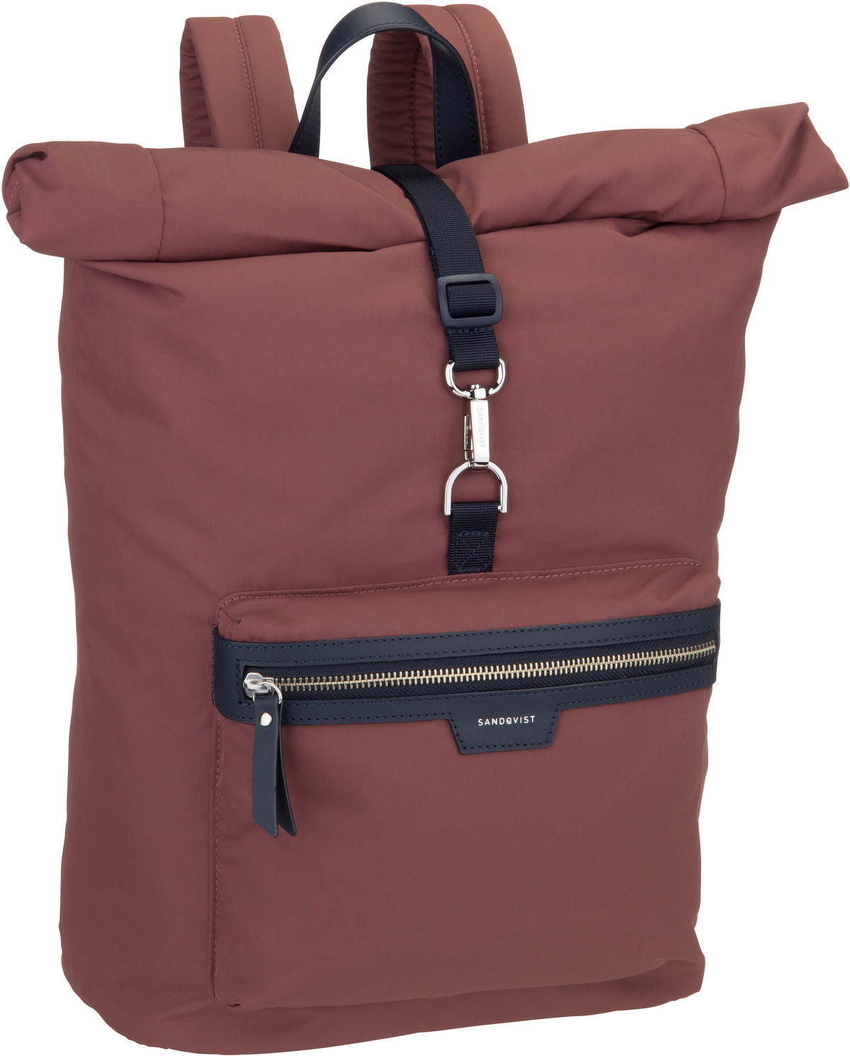 Rucksack / Daypack Siv Backpack Maroon/Navy Leather