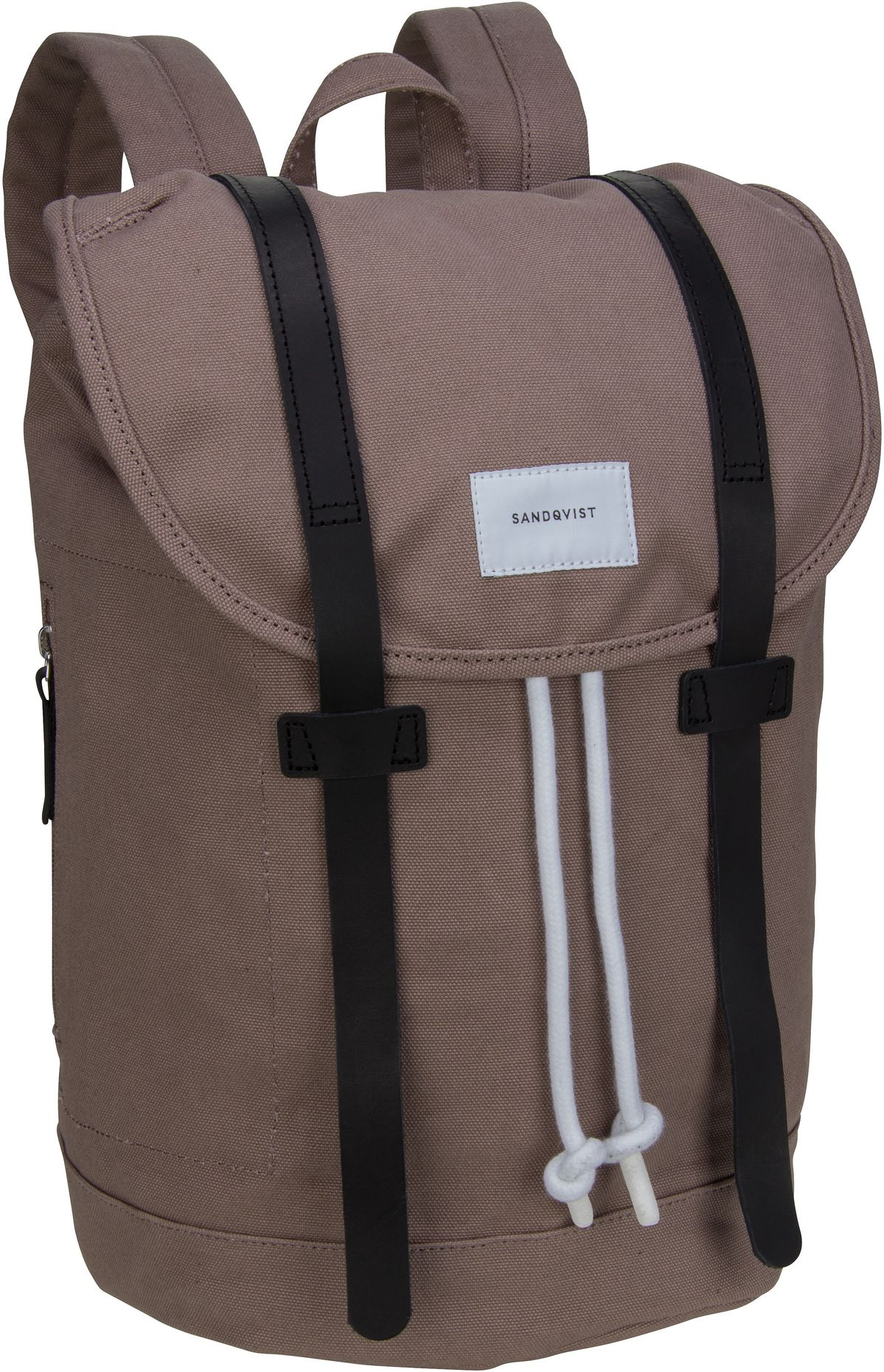 Rucksack / Daypack Stig Backpack Earth Brown/Navy Leather