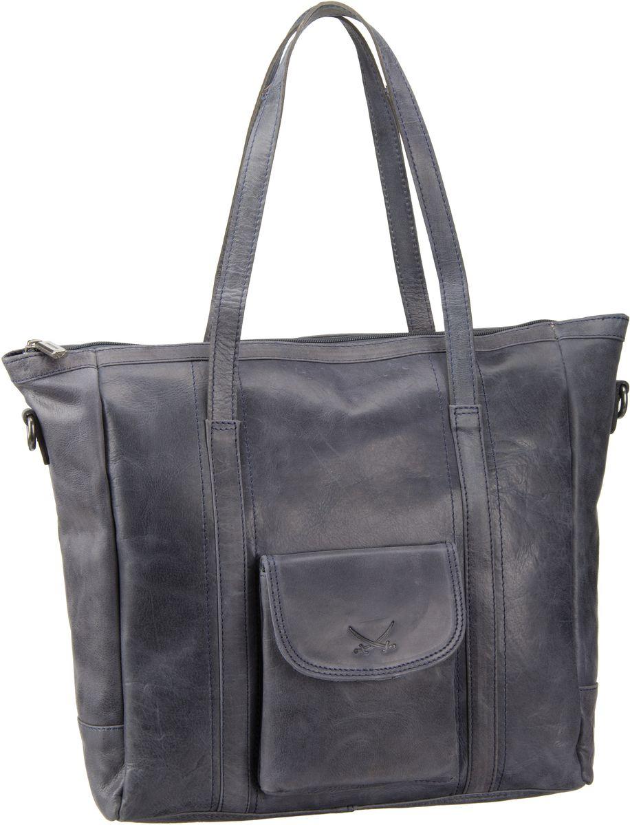 Ruhland Angebote Sansibar Saturnus 1064 Shopper Bag Jeans - Handtasche