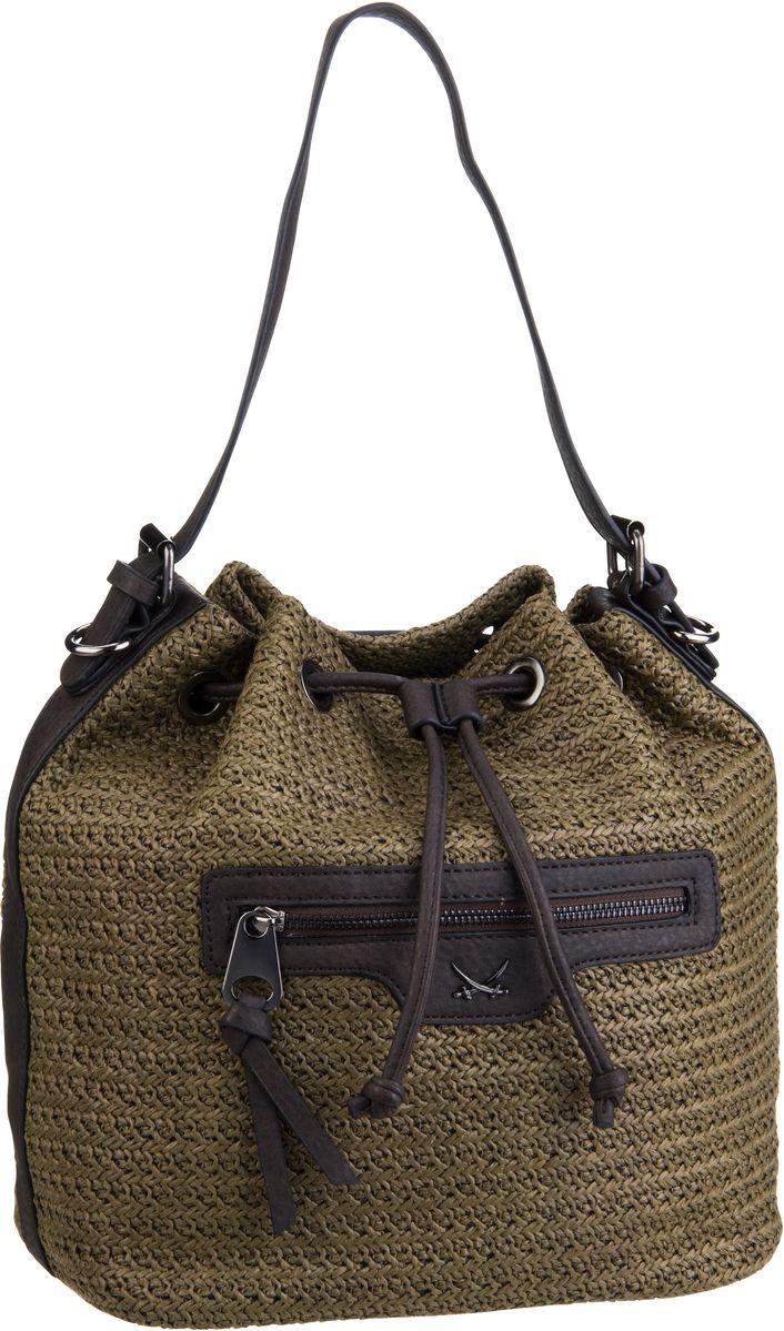 Sansibar Athene 1103 Pouch Olive - Handtasche