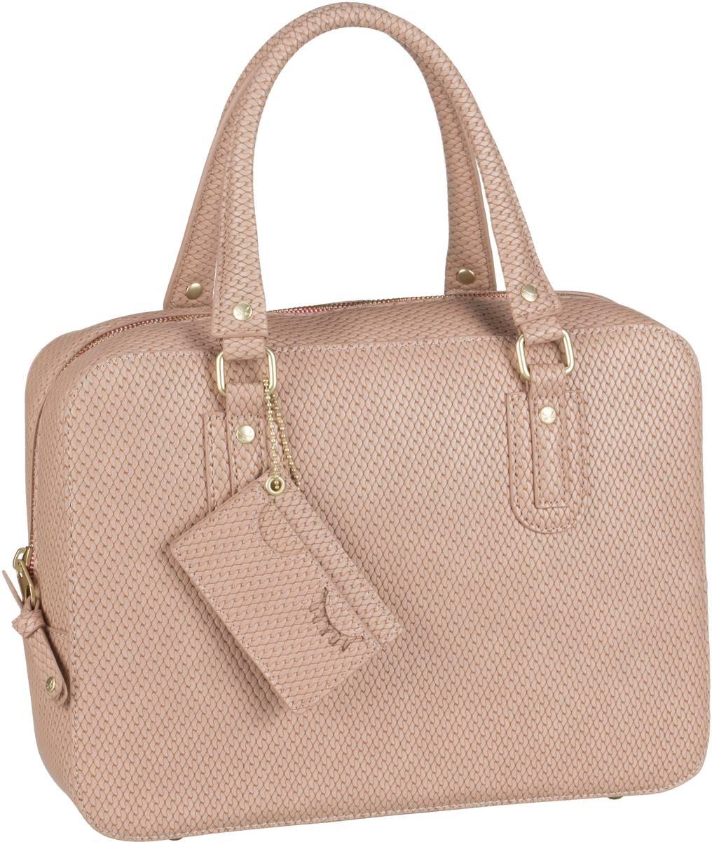 Handtasche Bowling Bag 1258 Rose