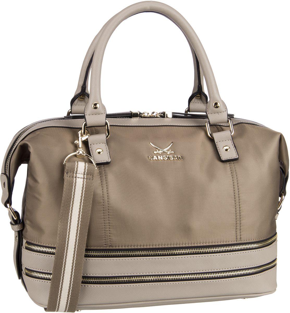 Handtasche Zip Bag 1273 Taupe