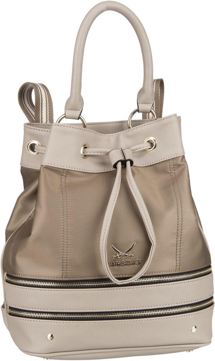Rucksack / Daypack Bucket Bag 1277 Taupe
