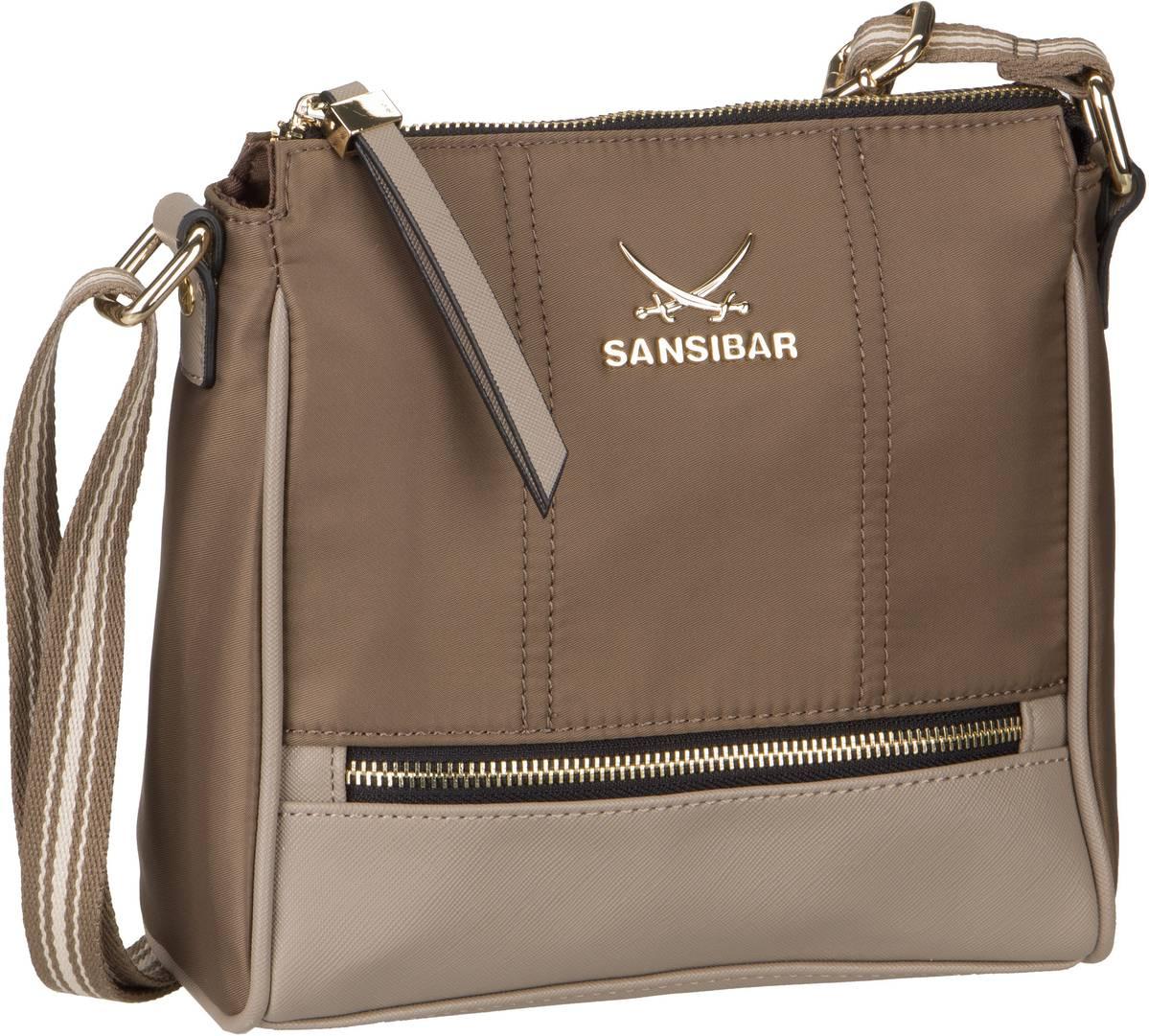Umhängetasche Zip Bag 1272 Taupe
