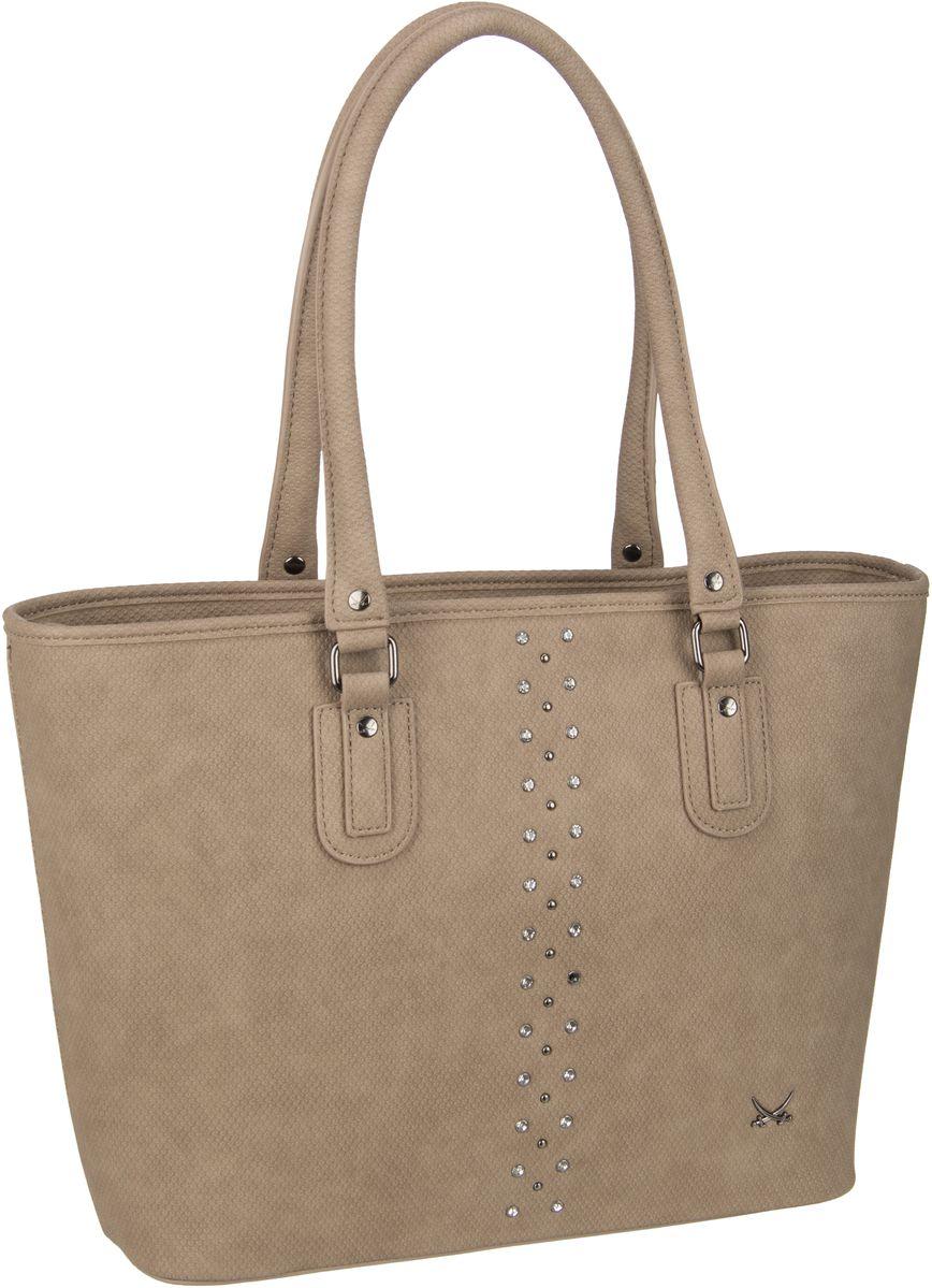 Handtasche Shopper Bag 1323 Taupe