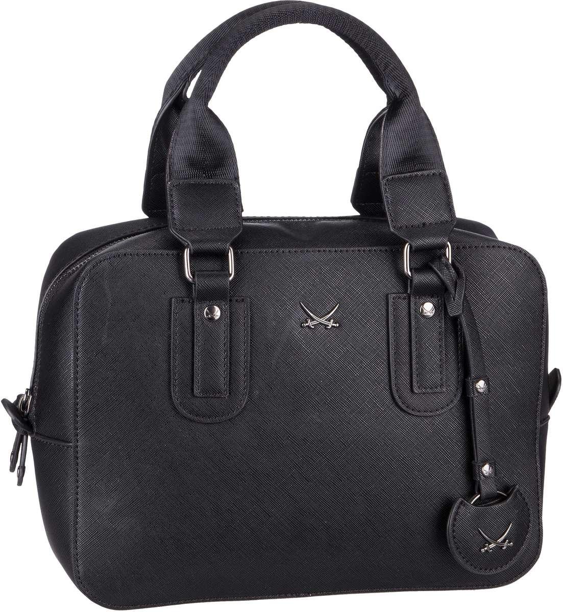 Handtasche Bowling Bag 1331 Black