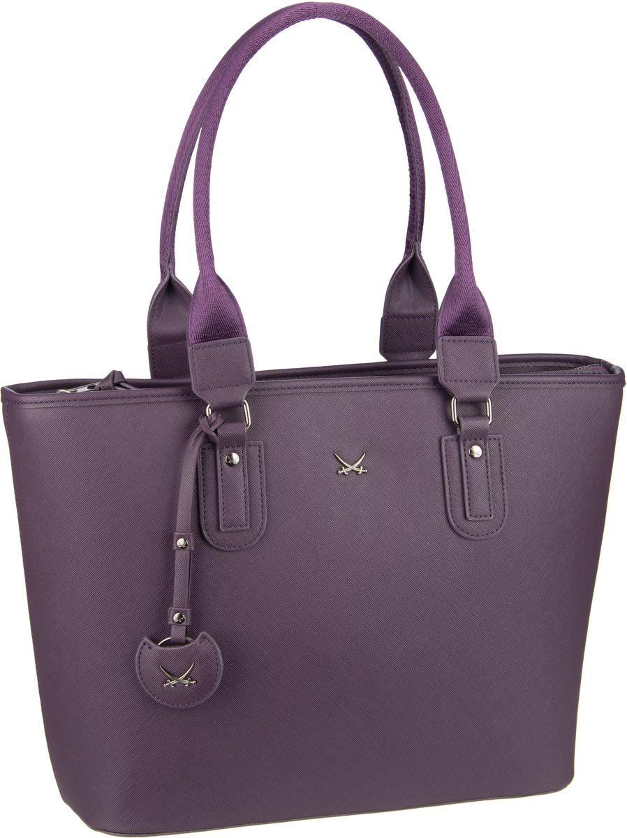 Handtasche Shopper Bag 1334 Aubergine