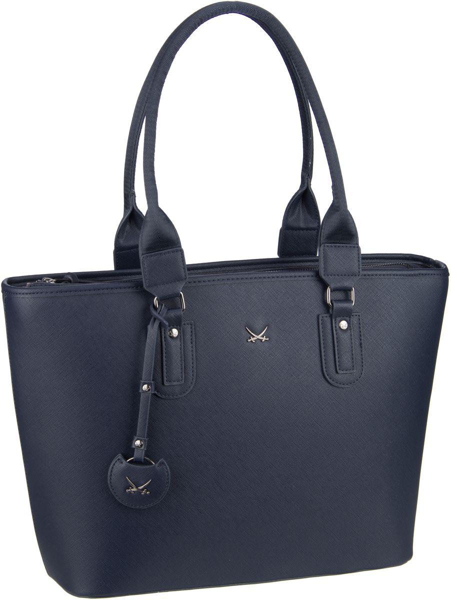 Sansibar Handtasche Shopper Bag 1334 Midnight Blue