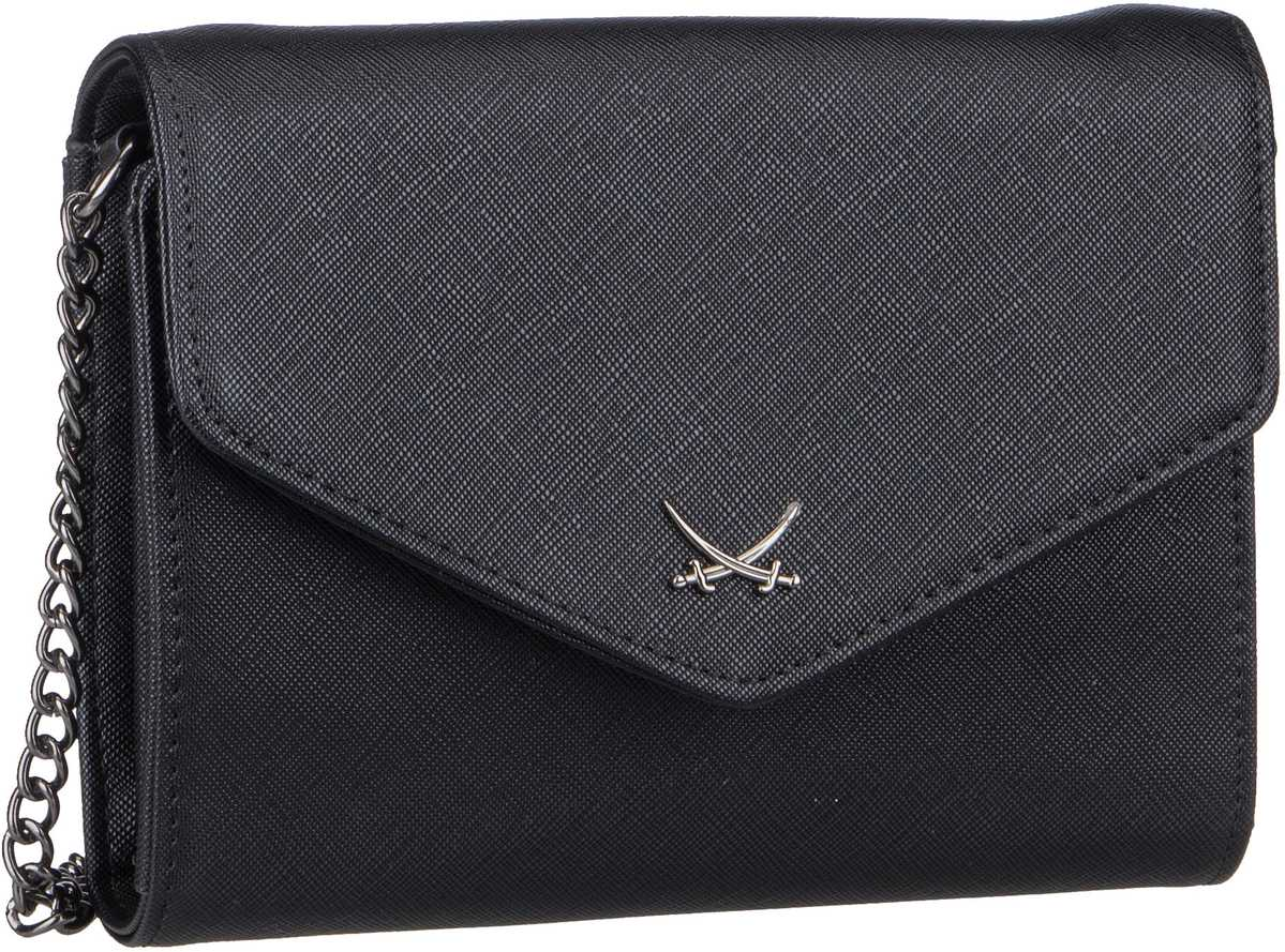 Handtasche Clutch 1335 Black