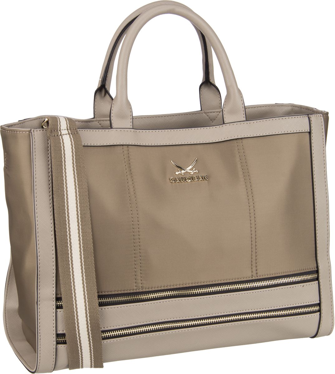 Handtasche Shopper Bag 1279 Taupe