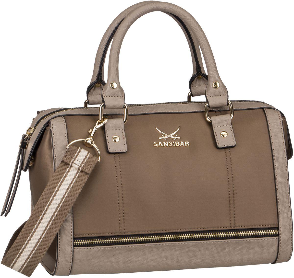 Handtasche Zip Bag 1280 Taupe