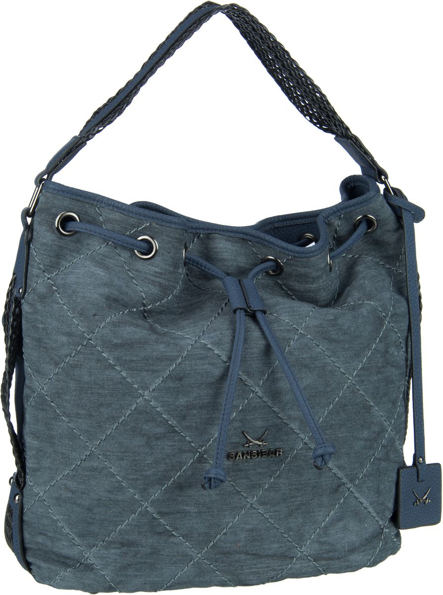 Handtasche Pouch 1231 Denim Blue