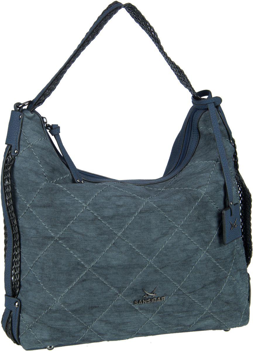 Handtasche Pouch 1230 Denim Blue