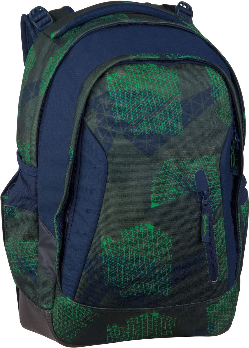 Laptoprucksack sleek Infra Green (24 Liter)