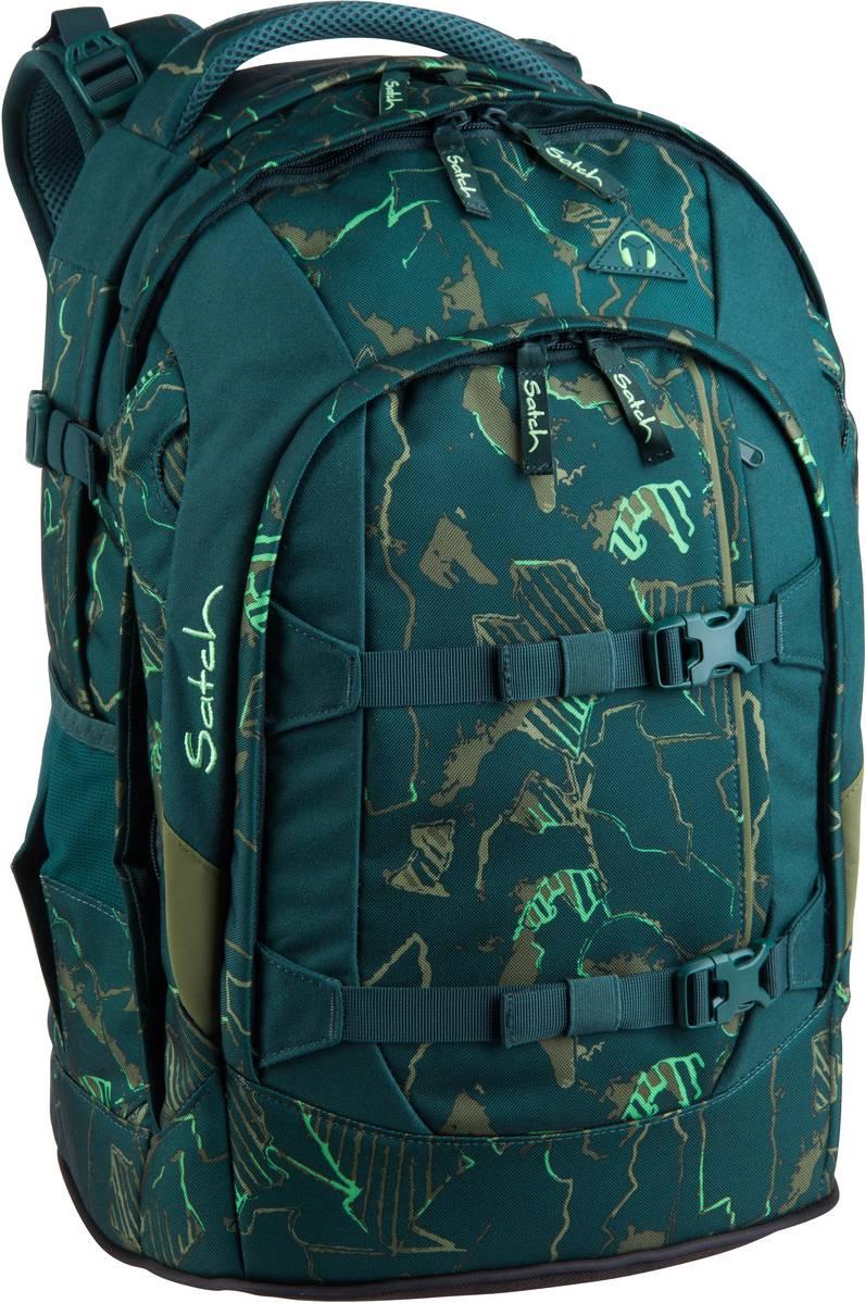 Schulrucksack pack 2.0 Green Compass (30 Liter)