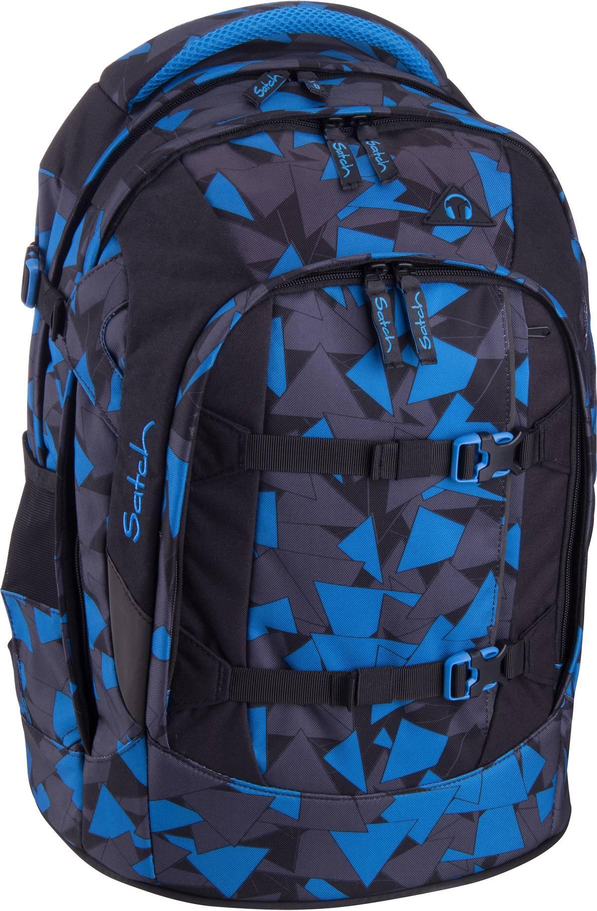 Schulrucksack pack 3.0 Blue Triangle (30 Liter)