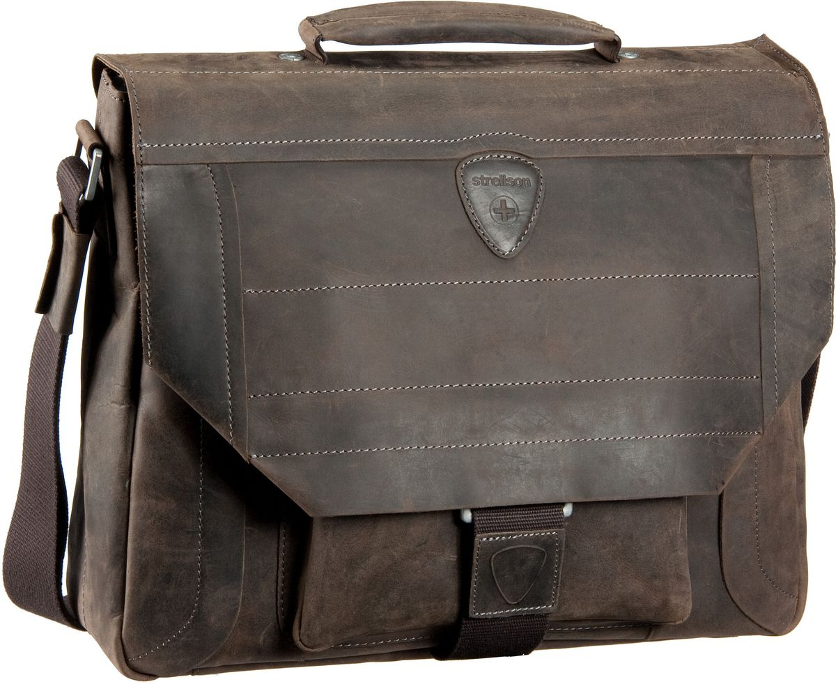 Hunter Briefbag M Dark Brown