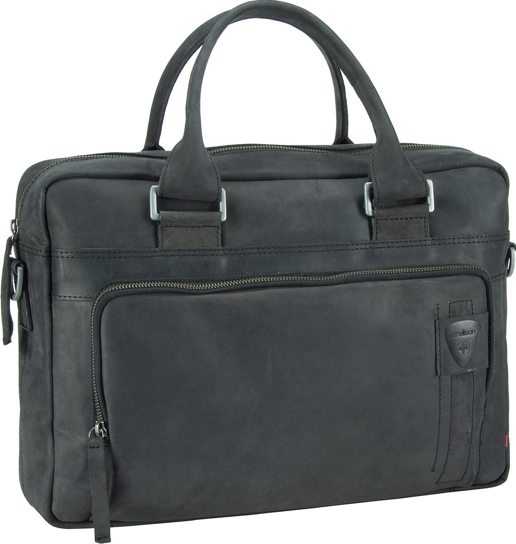 Richmond Soft Briefcase Black