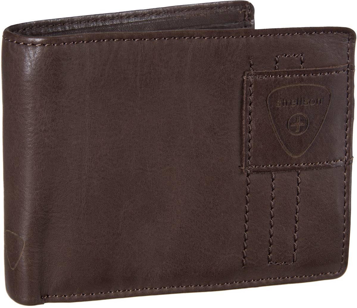 Upminster Billfold H6 Dark Brown
