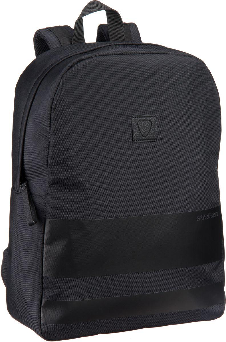Strellson Bennett DayPack Black - Laptoprucksack