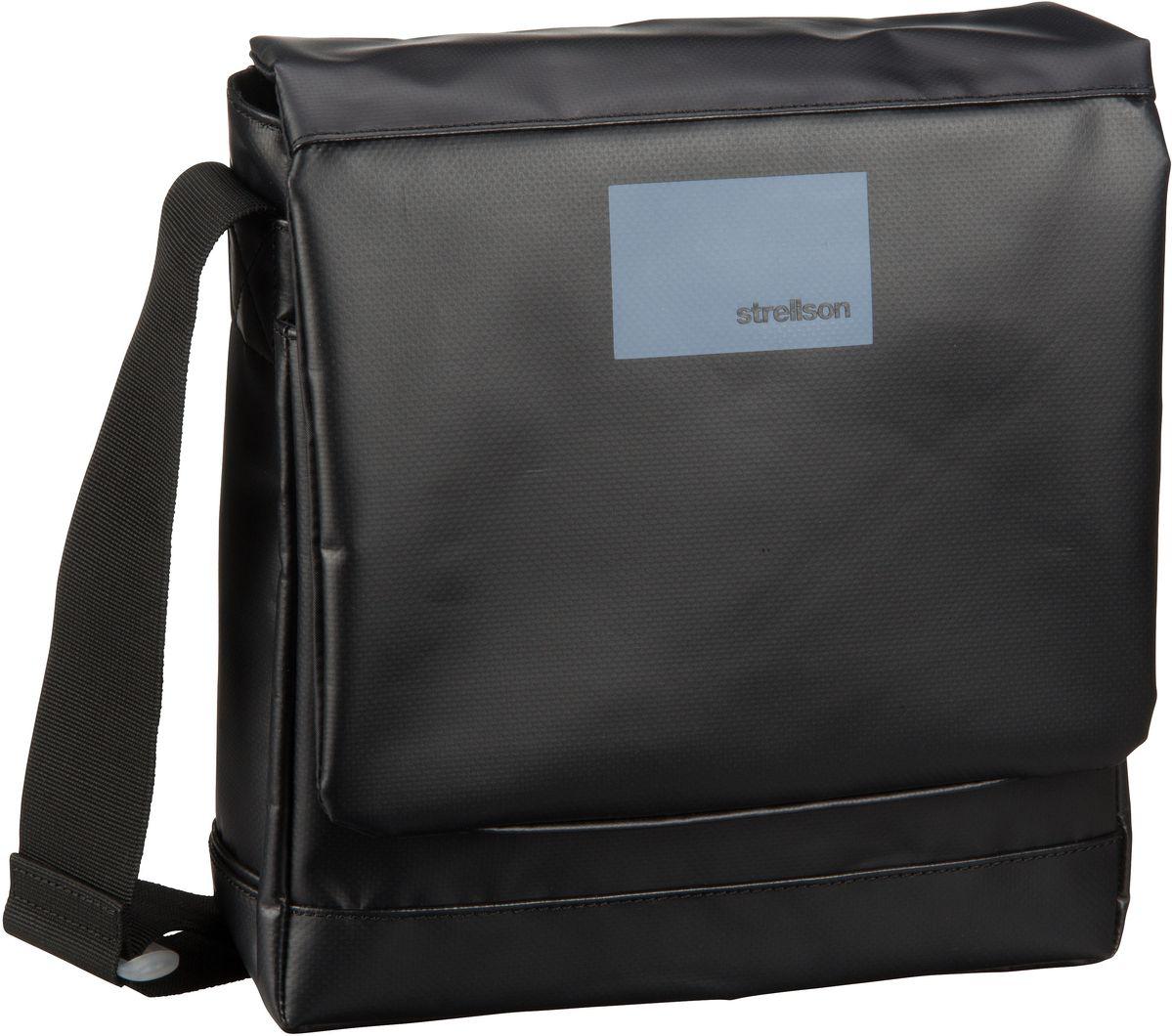 Strellson Shadwell Shoulderbag MVF Black - Umhängetasche