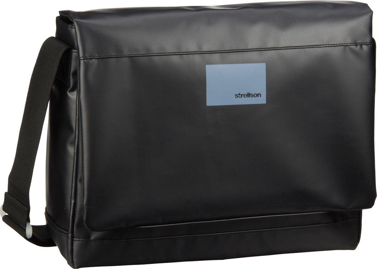Strellson Shadwell Shoulderbag LHF Black - Umhängetasche