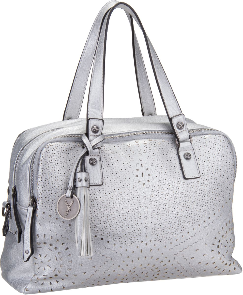 Handtasche May 11115 Silver