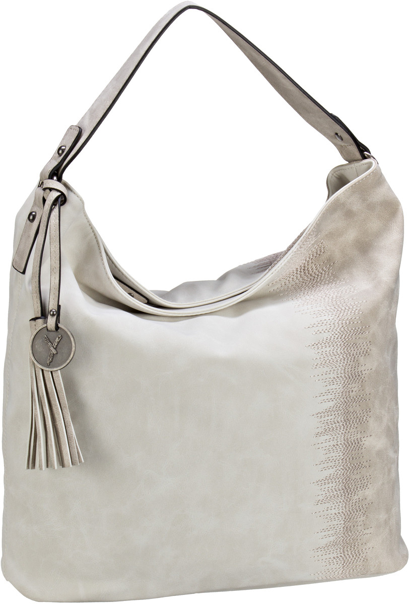 Beuteltasche Buffy 11152 Offwhite/Lightgrey