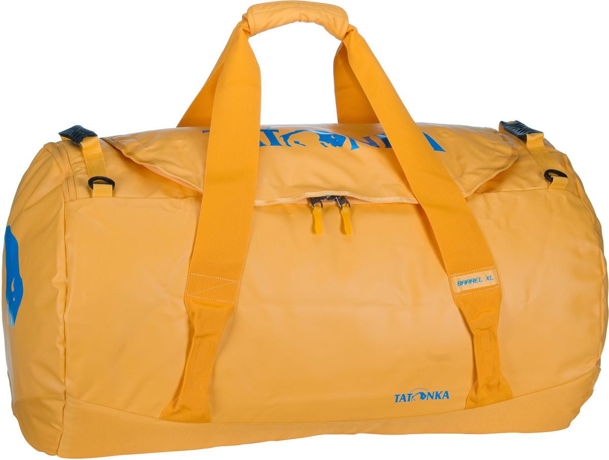 Reisegepaeck für Frauen - Tatonka Reisetasche Barrel XL Lemon (innen Gelb) (110 Liter)  - Onlineshop Taschenkaufhaus